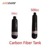 AC3050 Pcp Luftgewehr Scuba Tank 0.35L/0.5L Airforce Conder Mini Pellet Carbon Faser Tank 4500Psi M18 * 1,5