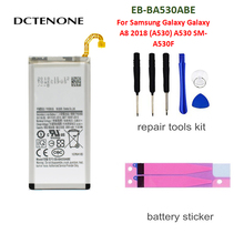 DCTENONE Battery for Samsung Galaxy Galaxy A8 2018 (A530) A530 SM-A530F 3000 mAh EB-BA530ABE Phone Replacement Batteries защитное стекло для samsung galaxy a8 2018 sm a530 onext 3d на весь экран с черной рамкой
