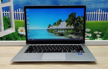 14.1 Inch laptop Intel CPU windows 10 Notebook 6GB RAM 128GB 256GB 512GB SSD Optional 2