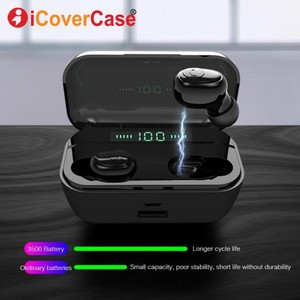 Image 3 - Bluetooth Earphone With Charging Box For Huawei Mate 30 Pro 20 P30 Lite Honor 20 10 Lite 9 8 8X 8A 8C Twins Headphone With Mic