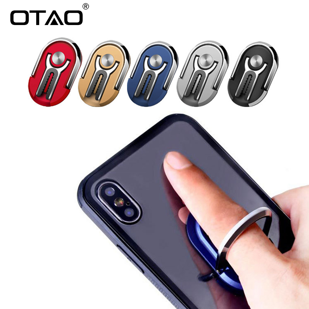 OTAO Multipurpose Mobile Phone Bracket Holder Stand 360 Degree Rotation Phone Magnetic Phone Holder For Car Home Iphone Samsung