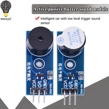 High Quality Active / passive Buzzer Module for Arduino New DIY Kit buzzer low level modules - discount item  5% OFF Active Components