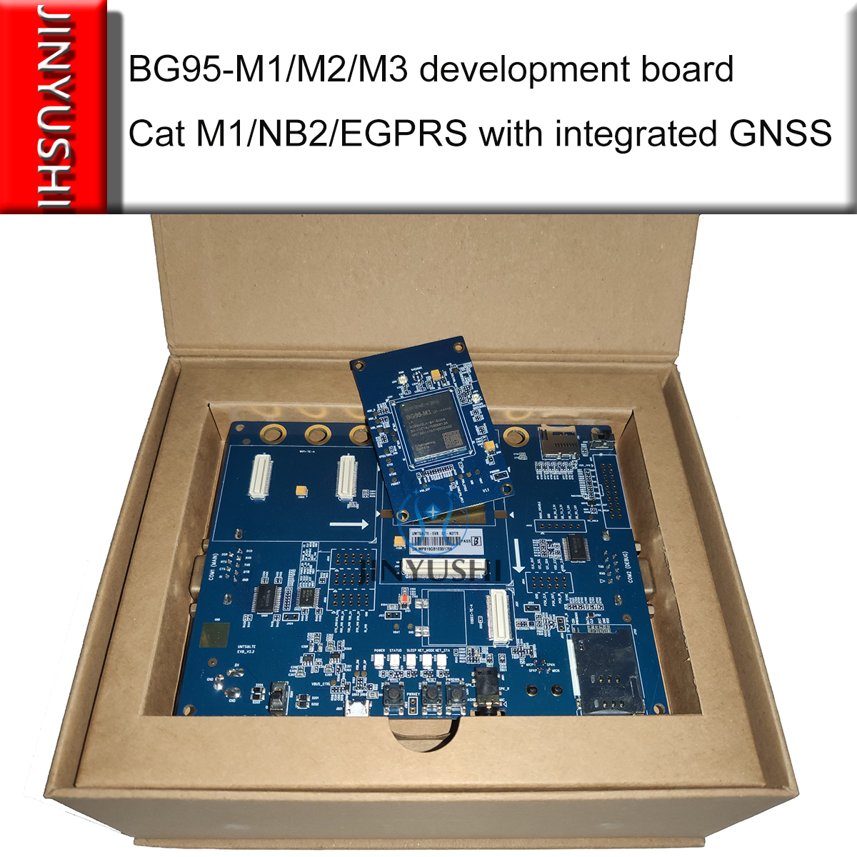 Development Board Breakout BG95-M1 BG95-M2 BG95-M3 BG95M3LATEA-64-SGNS Cat M1/NB2/EGPRS With Integrated GNSS With 3GPP Rel. 14