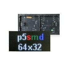 Módulo interno do diodo emissor de luz dos pontos 320x160mm de p5 64x32