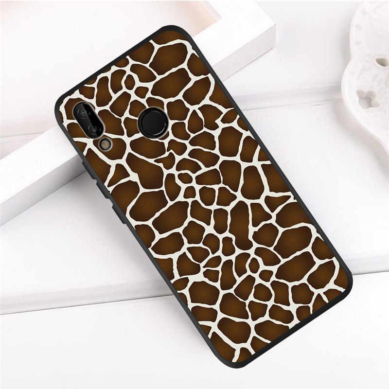 Leopard luxury For Huawei P8 P10 P20 P30 Mate 10 20 Honor 8 8X 8C 9 V20 20i 10 Lite Plus Pro Case Cover Coque Etui Funda capa