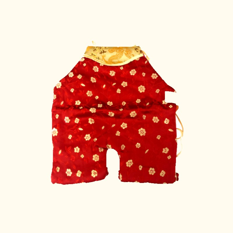 Chinese Style Baby Apron Pure Newborn Cotton Underwear, A Good Choice For Gifts Or Photos Newborn - Years Old