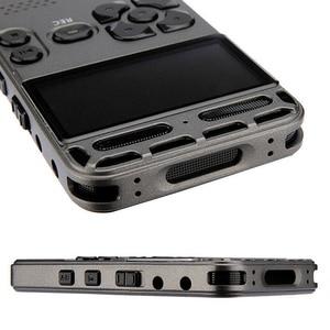 Image 5 - 8 gb recarregável lcd digital áudio som gravador de voz portátil ditaphone mp3 player sga998