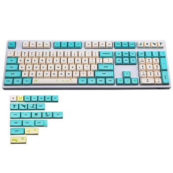 mechanical keyboard pbt white keycap cherry mx oem height black blank pbt 87 keyboard 104 poker 61 keyboard 60% full keyboard 130 Keys XDA Profile PBT Keycaps DYE Sublimation For GH60 GK61 61 64 87 104 108 Keys Cherry Mx Switch Mechanical Keyboard Keycap