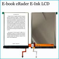 6 inch E Ink Screen Glass with Backlight For Tesla literally fl6.0 Reader Ebook Tesla ViVA LCD Display For BQ Cervantes 2013