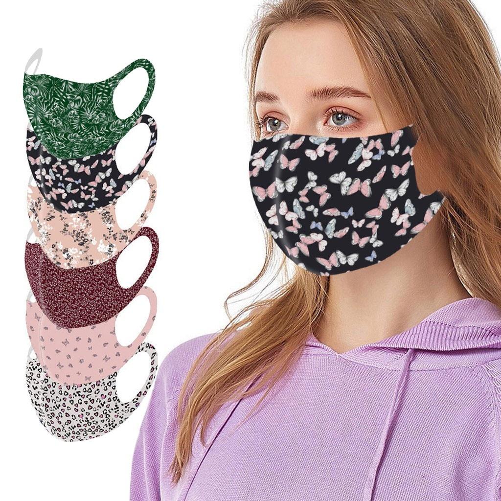 Reusable Mask Colorful Fabric Face Cover Turban Stylish Fashionable Neutral Washable Breathable Mask mascarillas de tela|Masks|   - AliExpress