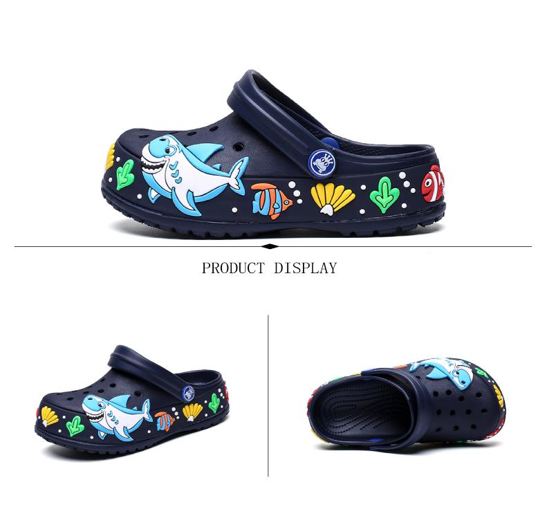 2017 New fashion children garden shoes children cartoon sandal babies summer slippers high quality kids garden children sandals (7)