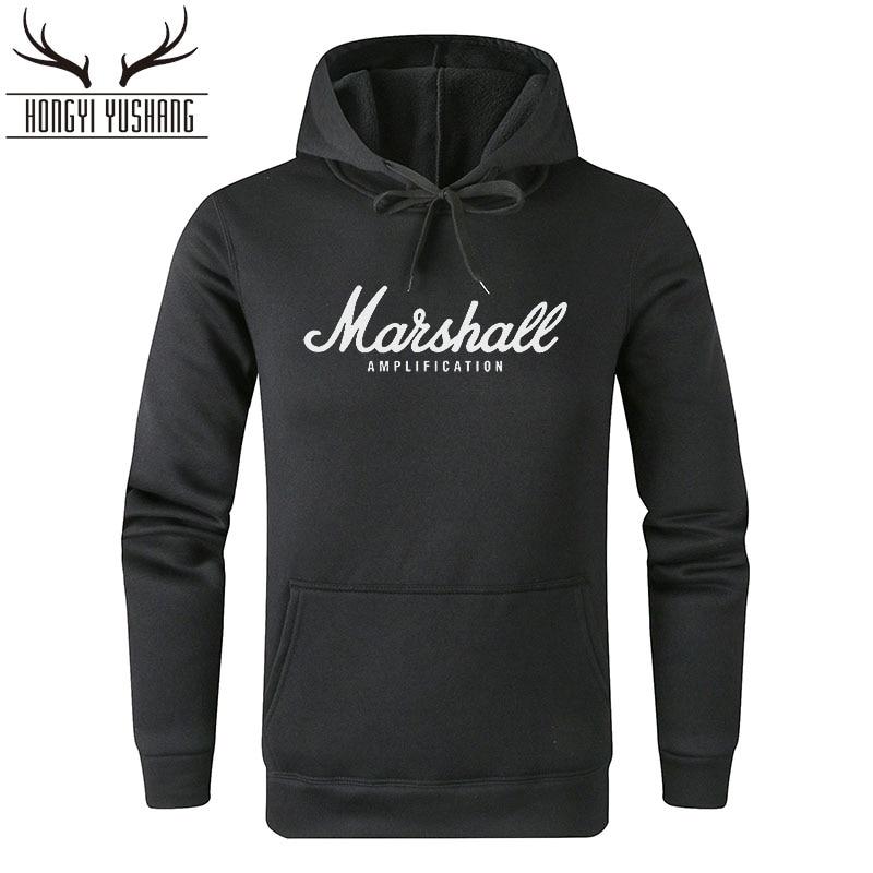 Marshall Men's Hoodie Ladies Pop Vocal Street Clothing Hip Hop Men's Hooded Clothing Men's Sweatshirt W02