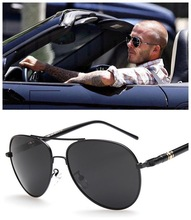 Quality Metail Aviation Frame Large Size Leg Men Alloy Polarized Sunglasses Brand Design Male Pilot Driver Sunglasses stylish golden alloy leg matte black frame sunglasses for women