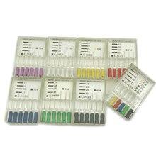 Эндодонтический корневой канал K Файлы(Ручное использование) стоматологические к-файл 21 мм ручного использования файлы Эндодонтические Инструменты Стоматологические Инструменты