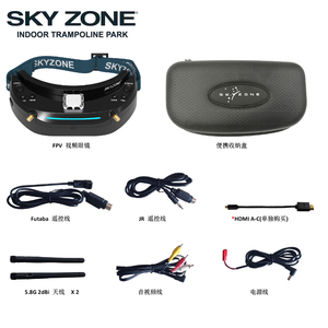 Image 2 - Skyzone SKY03O 5.8GHz 48CH Diversity FPV Goggles Support OSD DVR HDMI With Head Tracker Fan LED For RC Drone
