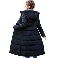 Big size 6xl jacket 2019 Fashion Women's Wear Winter long jacket thick sliver overcoat