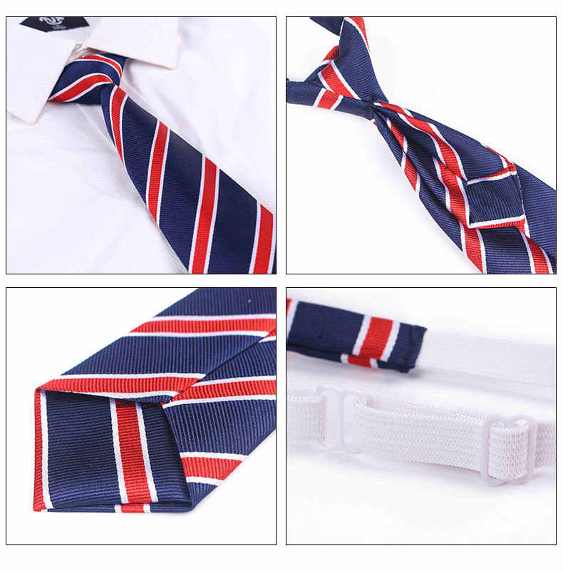 Corbata de 32x6 cm Gravata para niños y niñas, accesorios para traje de baile de clase escolar, corbata de regalo de dibujos animados para estudiantes