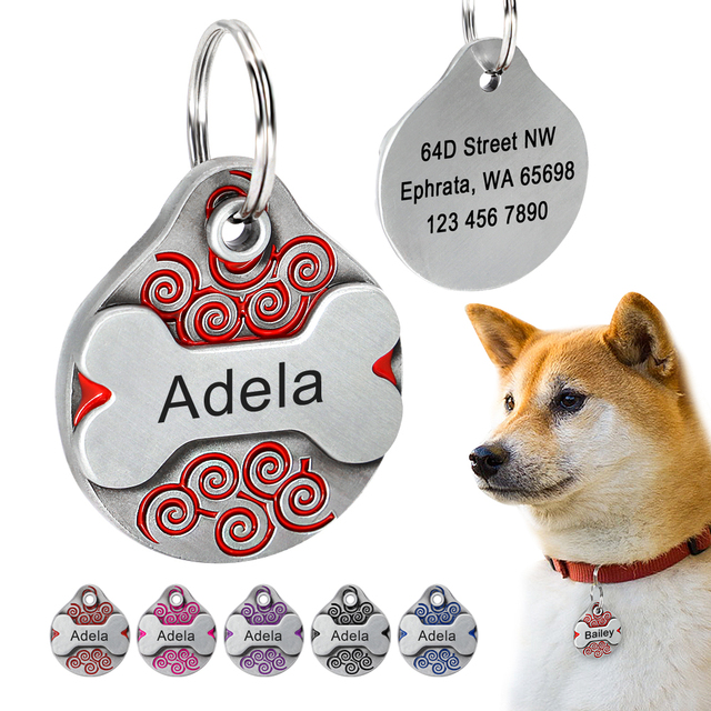 Collars, Harnesses & Leashes Dogs Anti-lost Pet Accessories For Collar  My Pet World Store