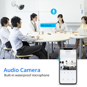 Image 4 - كاميرا Hiseeu 4K IP POE NVR 8CH نظام H.265 CCTV طقم الأمن 8MP في الهواء الطلق مانعة لتسرب الماء P2P 1T HDD تطبيق الرؤية عن بعد ويندوز