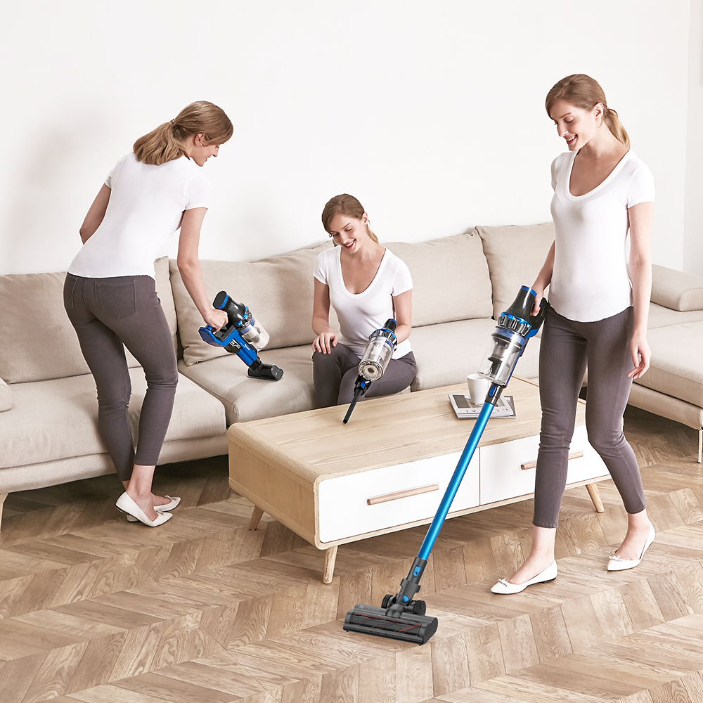 Proscenic P10 Handheld Wireless Vacuum Cleaner Portable Rechargeable Home Vacuum Cleaner Cyclone Filter cleaner Dust Collector 6