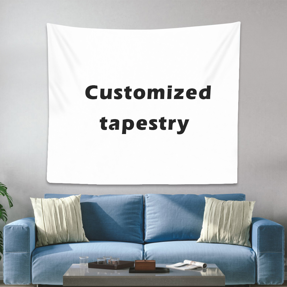 Customized Tapestry Boho Mandala Tapestries Witchcraft Wall Tapestry Print Your Photo Hippie Wall Hanging Blanket Tapestry
