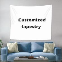 Personalizado de la tapicería de Boho tapices de la Mandala de la brujería tapiz de pared imprimir su foto Hippie tapiz para colgar en la pared tapiz