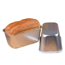 Bakeware Loaf Pan Aluminum Toast Cheese Box Baking Tool Kitchen Accessories Roast Rectangular Cake Toast Bread Mold Cake Mould