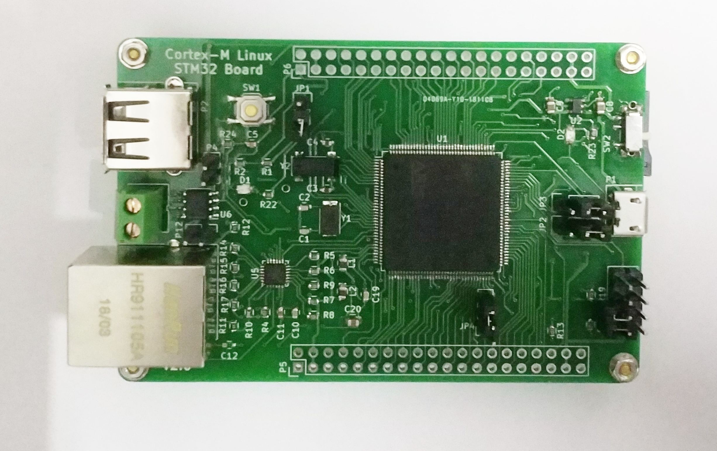 STM32F750 Linux Development Board STM32 UClinux