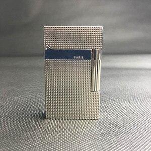 Image 4 - 100% Новая Винтажная газовая ветрозащитная Зажигалка dupont с ярким звуком для сигарет