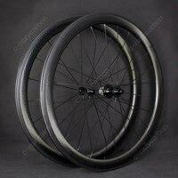 Besten Erschwinglichen Carbon Whe Grübchen Aerodynamische Road Fahrrad Carbon Räder R13 Verbesserte Hubset 276 gramm 27Mm Breite Carbon Felgen-in Felgen aus Sport und Unterhaltung bei