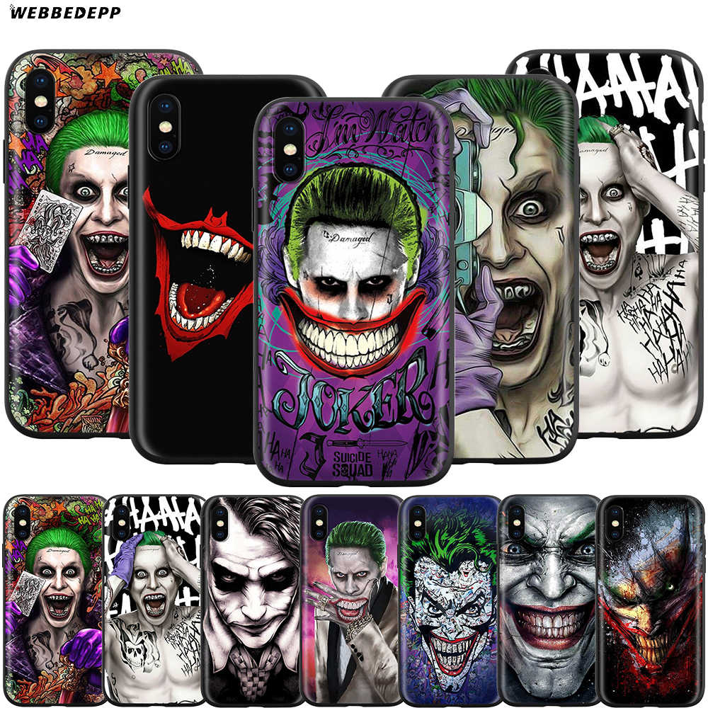 Caso Coringa para o iPhone Da Apple 11 Webbedepp XS Pro Max XR X 8 7 6 6S Plus 5 5S SE