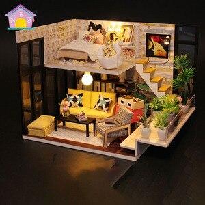 Hoomeda-ручная работа, имитация мебели, игрушки для детей, лофт, домашний стиль, подарок на день Святого Валентина, набор, модель кукольного дома