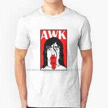 Andrew w. k. Camiseta 100% puro algodão andrew wk andrewwk metal awk eu obter molhado heavy metal música o lobo