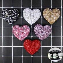 Śliczne serce Glitter Socket like składany Uchwyt Na palec Uchwyt Na telefon stojak Na Iphone Samsung Girls Uchwyt Na Palce