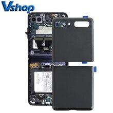 Tylna pokrywa baterii do Samsung Galaxy Z Flip 5G SM F707 części zamienne do telefonów komórkowych