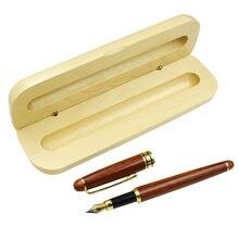 Деревянный пенал и чехол для карандаша классический дизайн офисные