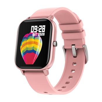 RUNDOING P8 1.4 inch Smart Watch Men Full Touch Fitness Tracker Blood Pressure Smart Clock Women GTS Smartwatch 7