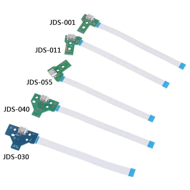 Placa de circuito do soquete de porta de carregamento USB 1pc para 12 - Jogos e acessórios