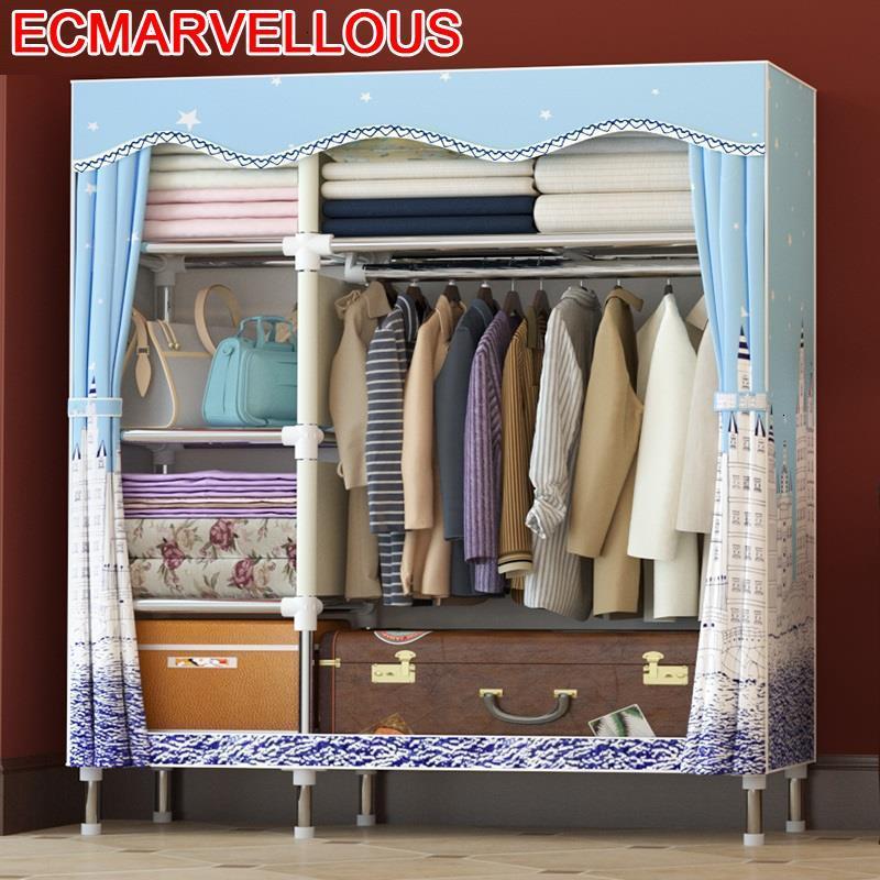 Para Casa Storage Ropero Garderobe Ropa De Almacenamiento Armario Rangement Chambre Mueble font b Closet b