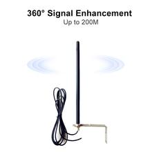 Répéteur sans fil 433 MHz 433.92MHz jusquà 250m, antenne pour porte, Garage, Booster de Signal Radio