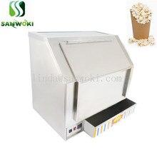 Попкорн согревающий и нагрева кузнечной печи подогреватель попкорна инкубатор для приготовления попкорна прилавок-витрина установка для изготовления попкорна 110v 220V