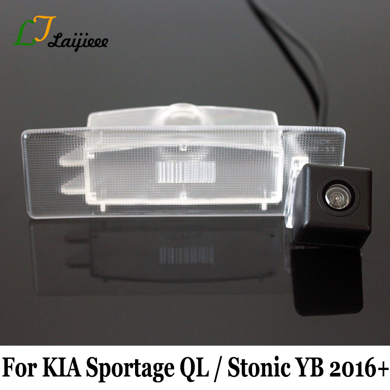 For KIA Sportage QL Stonic YB 2016 2017 2018 2019 2020 Car Backup Camera / With Power Relay HD Night Vision Auto Reverse Camera