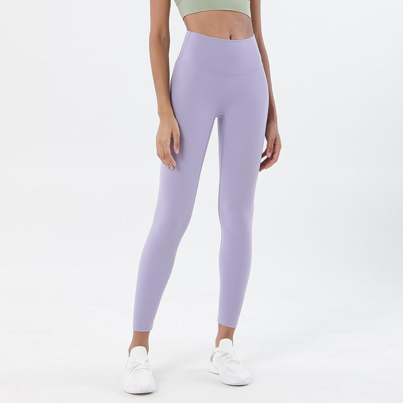 leggings de fitness macio nu-feel esporte sutiã