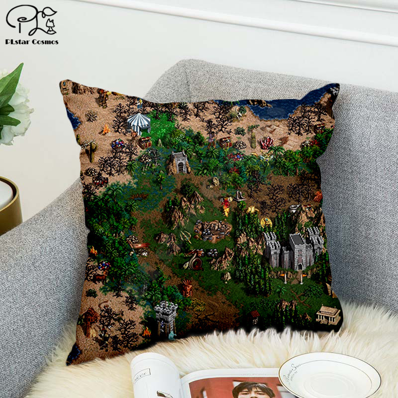 Anime Classic game 3D printed Polyester Decorative Pillowcases Throw Pillow Cover Square Zipper Pillow cases style-3