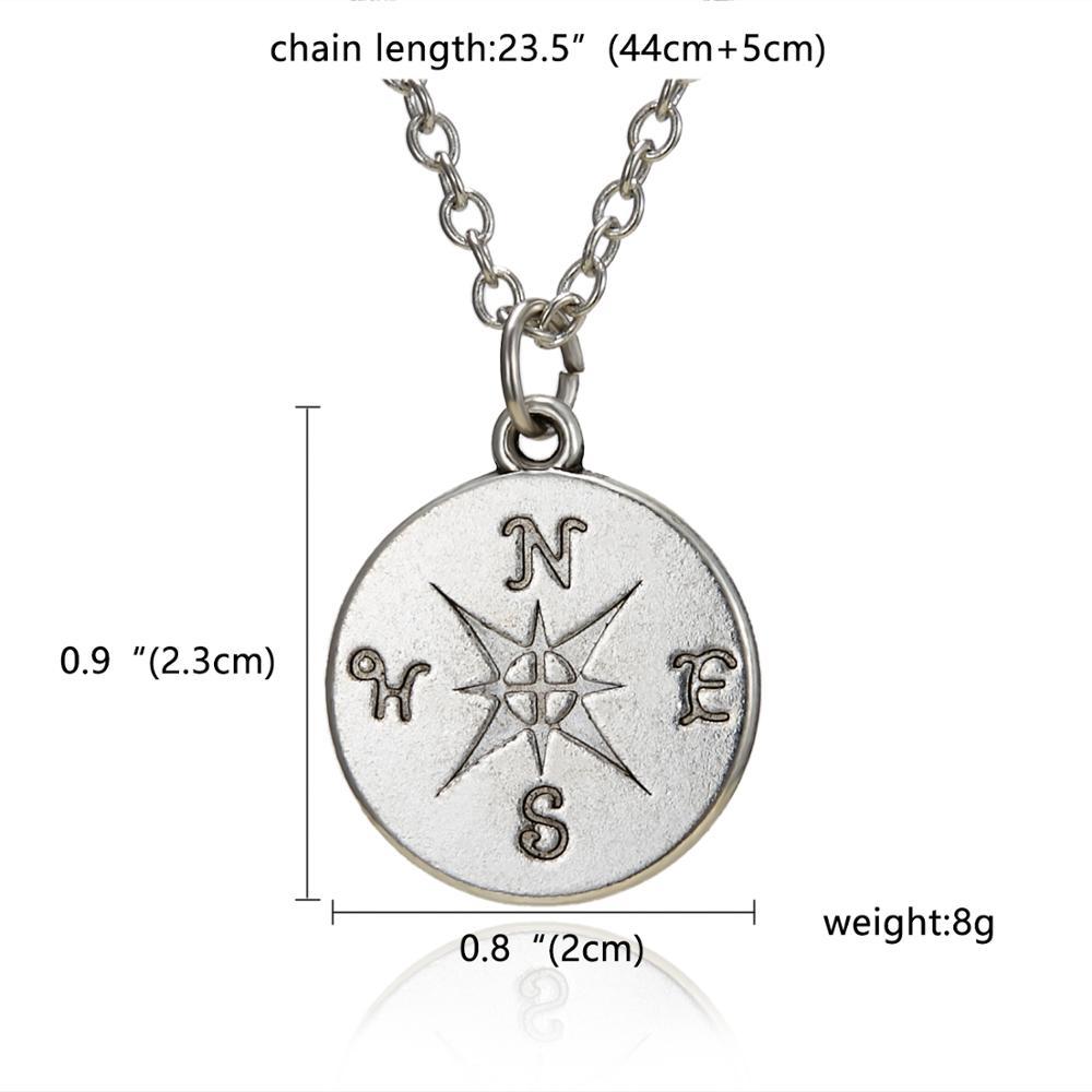 Rinhoo Karma, Двойная Цепочка, круглое ожерелье, золотое ожерелье с подвеской, модные цепочки на ключицы, массивное ожерелье, Женские Ювелирные изделия - Окраска металла: 18