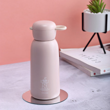 Stainless Steel Vacuum Flask Cup Cute Thermos Water Bottle Kettle Travel Cartoon Tumbler Coffee  Mugs Student Kids Thermos Cups joudoo 550 750ml stainless steel thermos for water bottle insulated tumbler cups coffee travel vacuum flasks thermal kettle 35