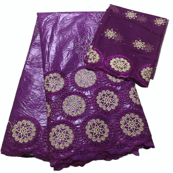 Hollow out design African lace fabrics bazin riche getzner with tulle french lace Nigerian lace fabric fabric high quality lace