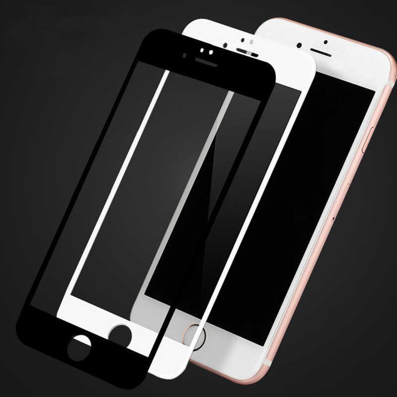3D abdeckung aus gehärtetem glas für iphone 7 6 6s 8 plus glas iphone 7 8 6X11 Pro Max screen protector glas auf iphone 7 plus