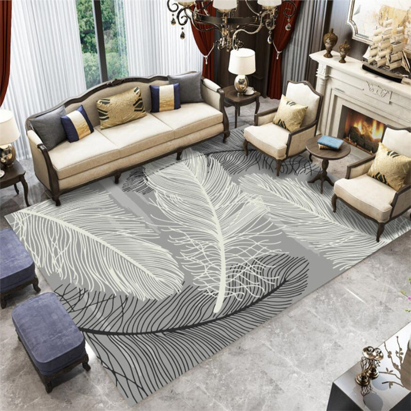 3D Carpets Living Room For The Modern Abstract Nordic ...
