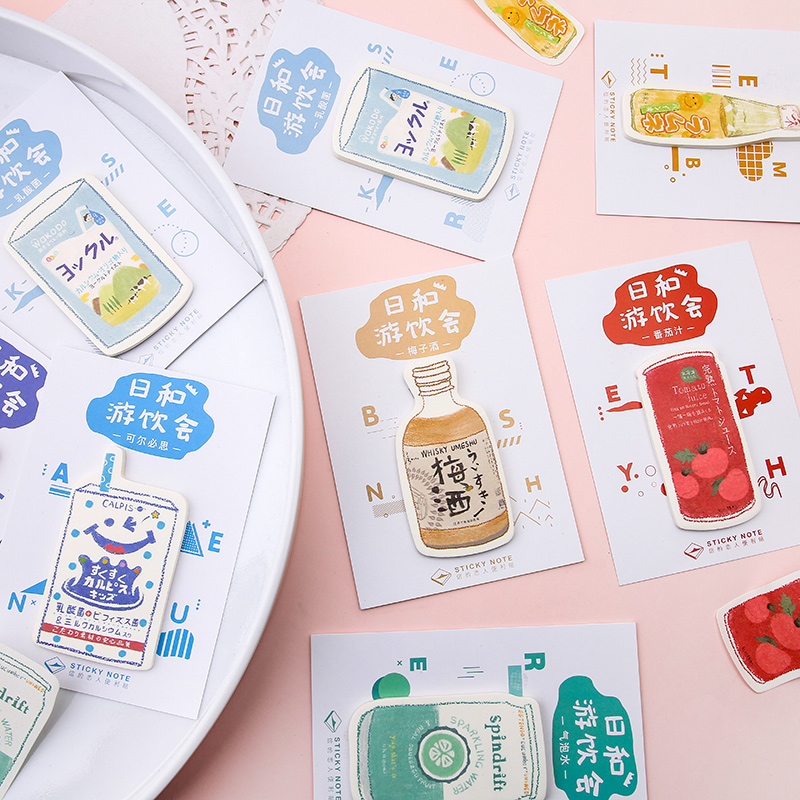 VanYi 12 Designs 30Pcs/lot Day and drink party Kawaii <font><b>Stickers</b></font> Scrapbooking Planner Bullet Journal Doodling Decorative Stationer image